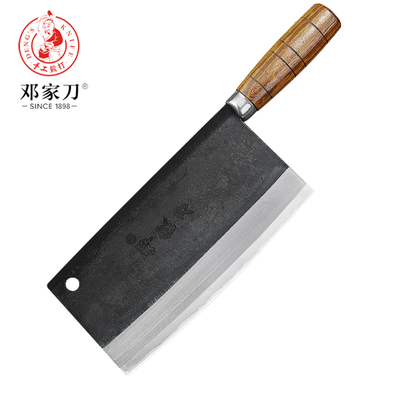 US $36.48 |Deng knife High grade handmade forged blade carbon steel kitchen  knife Chinese chef knife vegetable cleaver kitchen knives-in Kitchen ...