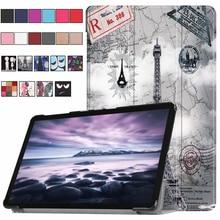Модная чехол для samsung Galaxy Tab 10,5 »SM-T590 SM-T595 T590 T595 Tablet Обложка для выпуска 2018 Tab A2 10,5 шт. авто сна
