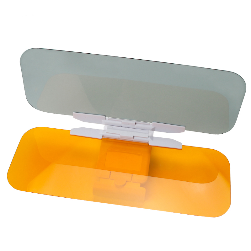 Car Sun Visor Goggles Anti-Dazzle Mirror Piece Auto Driver Safety Sunshade Protection Clear View Sunglasses Goggles Car-styling