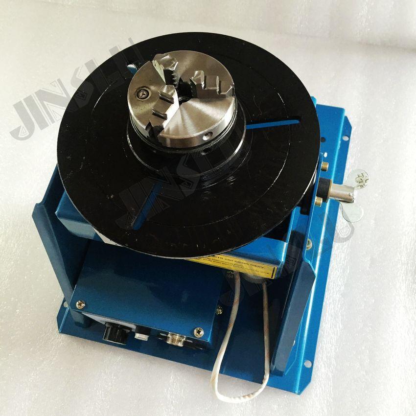 Svařovací polohovač 220 V BY-10 se sklíčidly K01-63