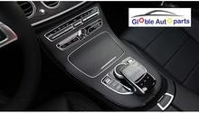 Для 2016-2018 Mercedes Benz E Class W213 автомобиля stylinginterior модификации углеродного волокна консоль Шестерни Панель отделкой защиты Наклейки
