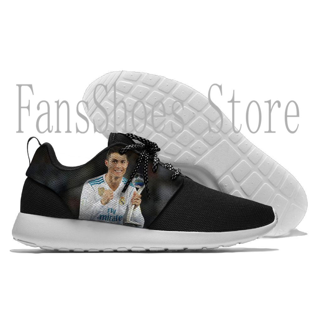 hot Sport Running Shoes Page semi-protected CR7 Lace-up Exercise Sneakers cool suitable Breathable Mesh Shoes