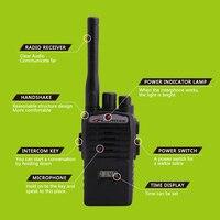 woki טוקי 2pcs ילדי צעצוע מכשיר ההקשר נייד רדיו האלקטרוני אינטרקום ילדי Interphone Juguete מיני Woki טוקי ידית שני רדיו דרך (2)