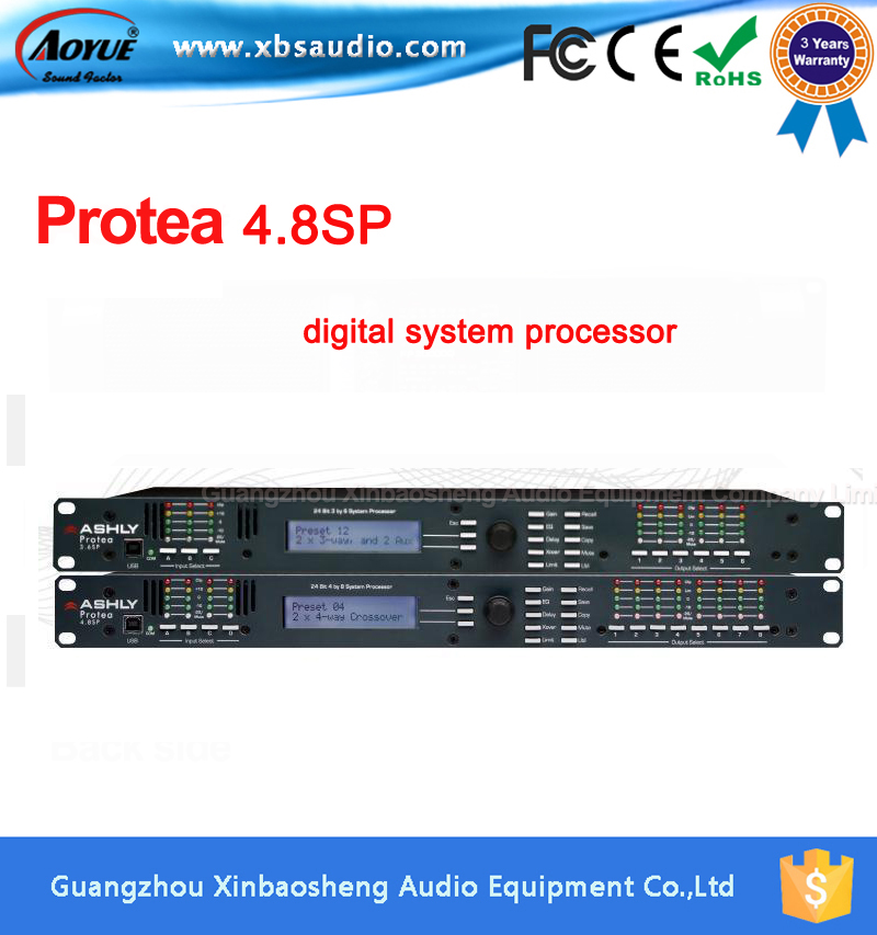 Protea System 4.8sp Live Sound Digital Audio Processor  4 Input 8 Output driverack wavelets processor