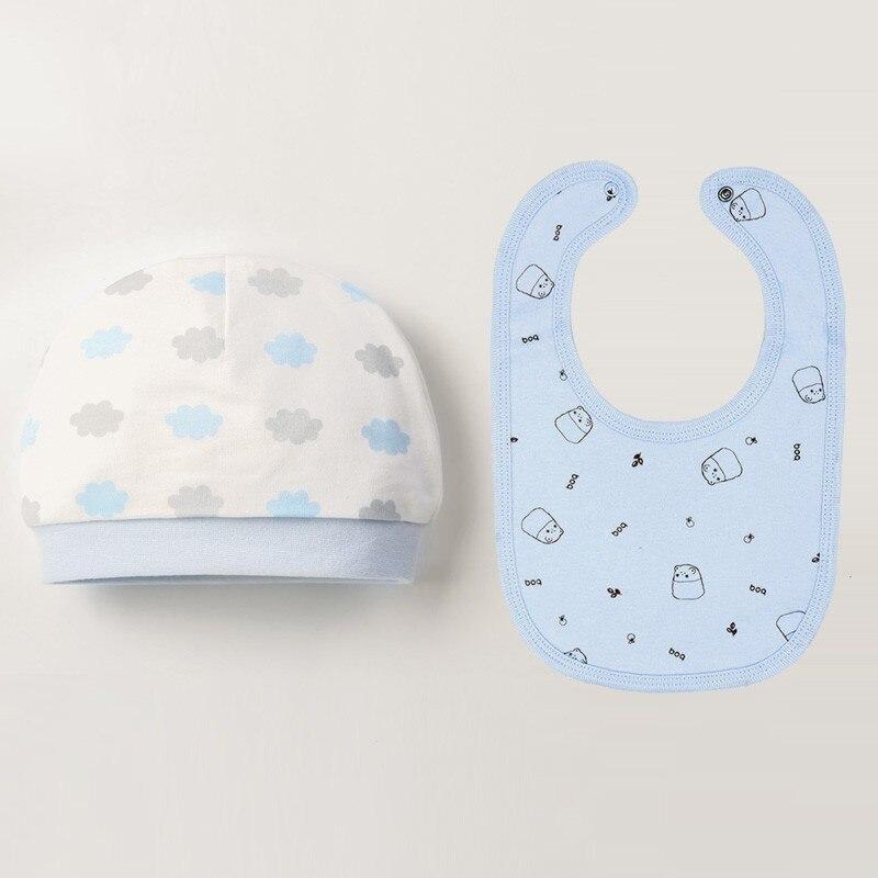 Осенне-зимние детские шапки и варежки для девочек и мальчиков, кепки, носки, удобные детские шапки и перчатки, хлопковые аксессуары для новорожденных детей 0-3 лет - Цвет: Лимонно-желтый