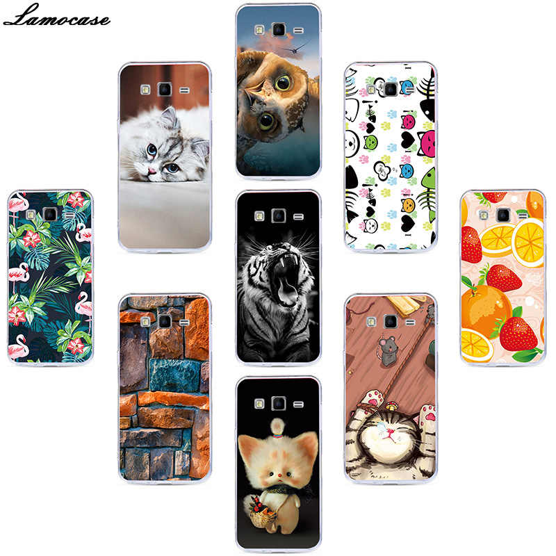 Case For Samsung Galaxy Ace 4 Lite G313 G313H SM-G313Hy  Soft TPU Phone Cover For Samsung Galaxy G318H SM-G318H Cartoon Pattern
