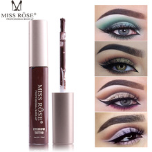 все цены на Top Quality Eyebrow Gel Makeup Eyebrow Tattoo Paint Pigment Cream Long Lasting Easy To Wear Liquid Eye Brow Tint Brand Miss Rose