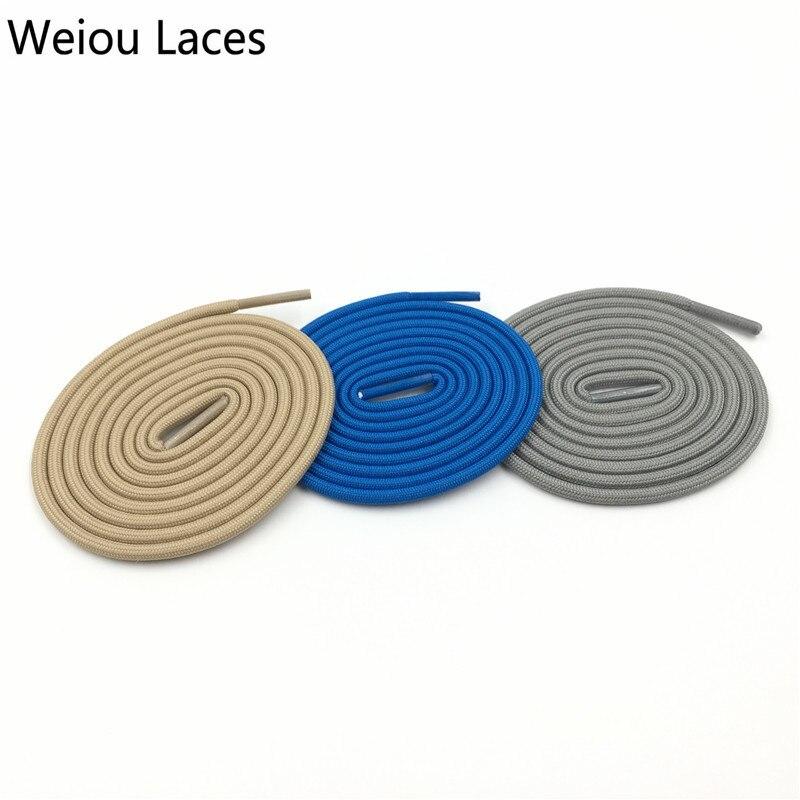 (30 Paare/los) Weiou 4,5mm Mode Polyester Sport-laufende Minimalem Benutzerdefinierte Farbe Schnürsenkel Seil Schnürung Für Turnschuhe Martin Boot Hochwertige Materialien