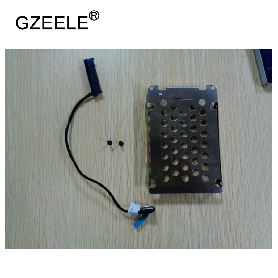 GZEELE New Hdd Cable CADDY for HP for Pavilion DV7 dv7-7000 Series SATA Hard Disk Drive Cable Connector HDD Cable 50.4SU17.021 communication cable for servo drive mr cpcatcbl3m cable mr j2s a
