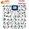 2016 V4.94 Digiprog 3 Quilometragem Correta Programação Auto Mileage odômetro ajustar V4.94 Digiprog III DP3 V4.94 com todos os adaptadores