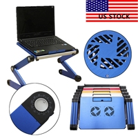 3 Styles Laptop Notebook PC Table Desk Sofa Bed Folding Adjustable Stand Cooling Laptop Accessories Lapdesks
