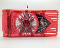 Msi Planetesimal 9600gso 9800gt Gts250 2 Heatpipe Graphics Card Fan 53mm