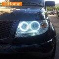 Для УАЗ Patriot CCFL Angel Eyes Кольца Комплект Номера Проектор Halo Кольца Автомобиль Глаза Free Доставка