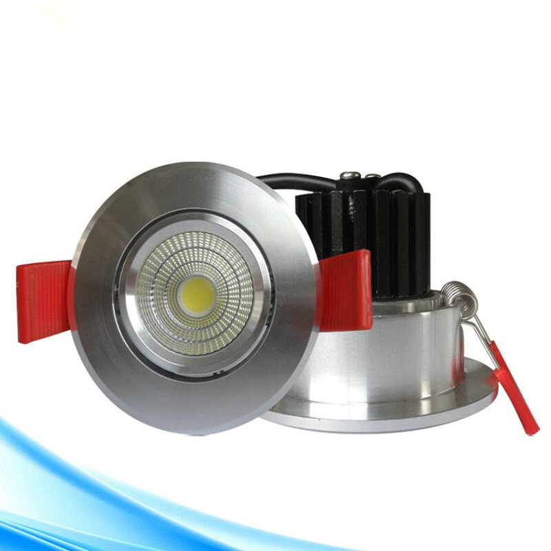 Free shipping 9W Dimmable LED Downlights Cool/Warm White LED Ceiling Down Lights Energy Saving LED Lamp