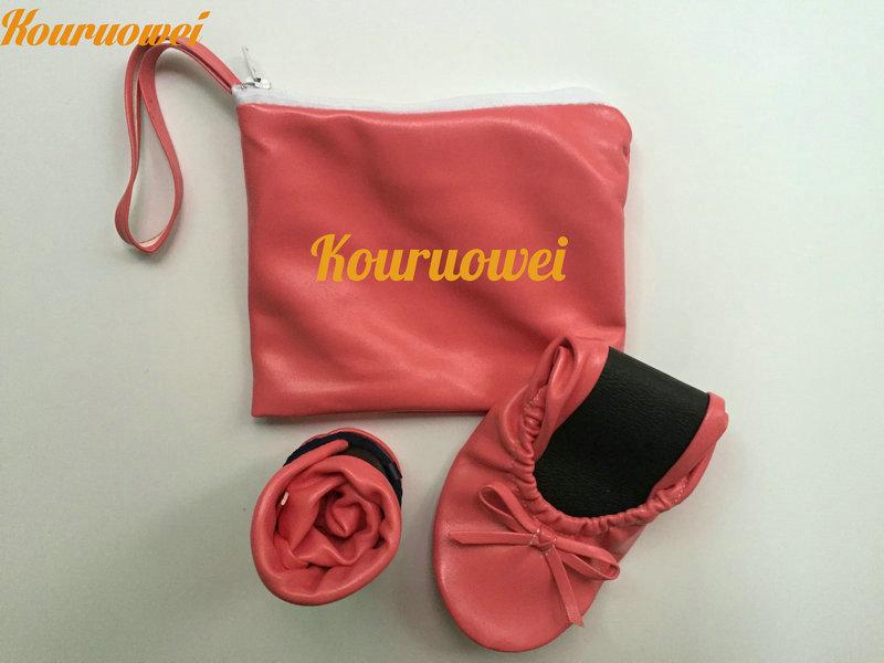 Jetable Enroulable Livraison Cher Faveur Avec 2015 Slipper L'emballage Ballet Dames Poche De Pas Gratuite q0x1gwqH