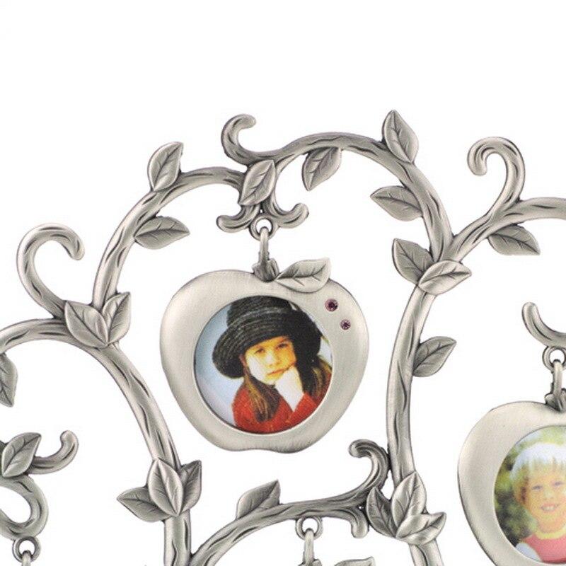 Árbol of life Photo Collage de Metal de la familia 7 colgar marcos ...