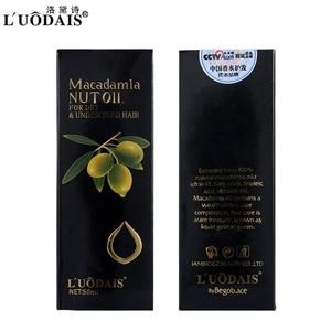 Image 3 - 50 Ml Haarverzorging Masker 100% Pure Marokkaanse Arganolie Hoofdhuid Behandeling Macadamia Notenolie Voor Droog En Beschadigd haar Voeding