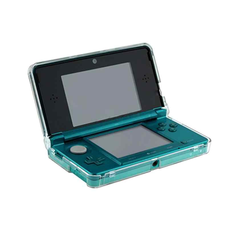 New Crystal Clear Hard Skin Case Cover gaming Accessory Case Protection for Nintendo 3DS N3DS Console