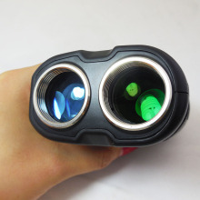 HOT 400m black Portable Golf Laser font b Rangefinder b font with Pinseeker for Golf Monocular