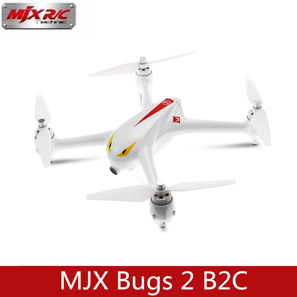 MJX Bugs 2 B2C Brushless RC Drone With 1080P HD Camera GPS Barometer Altitude Hold RTF RC Drones Quadcopter Helicopter RC Toys