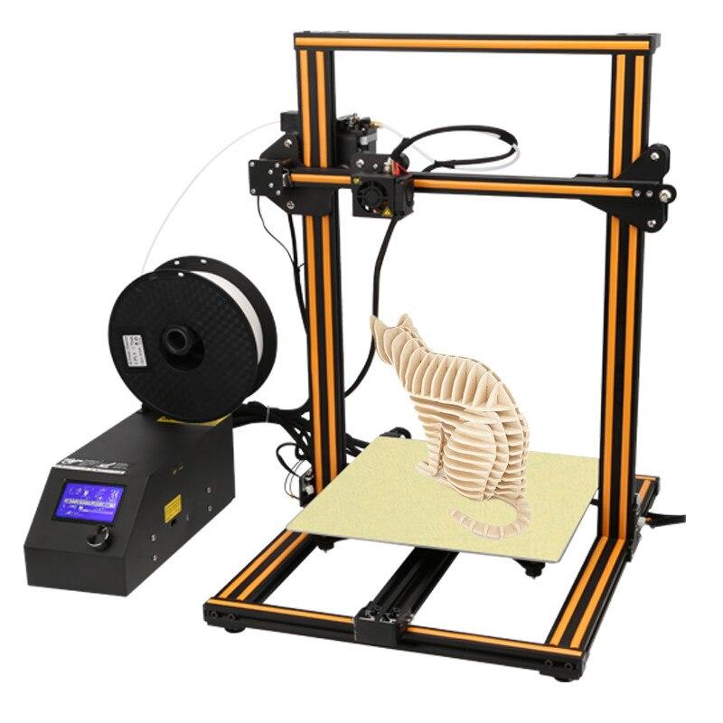 Creality 3D CR-10S FDM 3D Imprimante kit Pré-assemblée Grande Taille D'impression 300*300*300mm Avec filament Détection Reprendre Imprimer Hors Tension