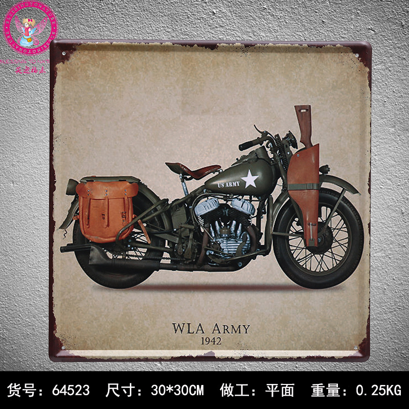30X30CM Military Vintage Home Decor Tin Sign for Wall Decor Metal Sign Vintage Art Poster Retro PlaquePlate