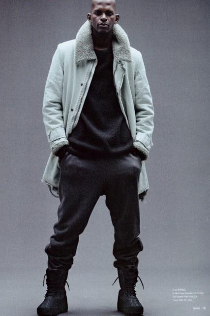 Kanye west style yeezy season 1 Jogging pants men s clothes Pants HipHop  kpop oversized Brand Casual zipper pencil pants Label 33932f11b