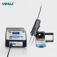 YIHUA 938D 110V 220V EU US PLUG Soldering Tweezer Repair Rework Station Electric Hot Tweezer For
