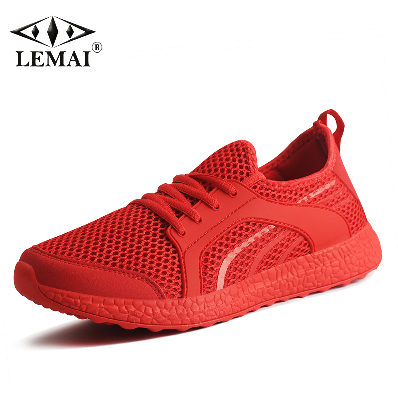 LEMAI New Leisure Women Running Shoes Autumn Breathable Air Mesh Summer Sneakers Light Outdoor Sport Shoes Eur 40-44 f021-2 apple summer new arrival men s light mesh sports running shoes breathable fly knit leisure comfortable slip on sneakers ap9001