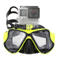 Swimming Goggles Camera Diving Face Mask Anglotzen for Action Sports Camera Helmet Camera GoPro Hero 1 2 3 3+ 4