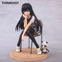 цена Anime Saenai Heroine No Sodatekata Megumi KATO Sexy Action Figure 14cm PVC Schoolsuit bikini girl Collection toys онлайн в 2017 году