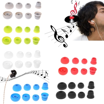 4 Pairs Silicone Earbud Tips Replace For Beats Powerbeats 2/3 Wireless Headphone O19 dropship