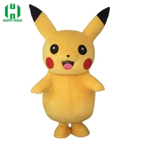 2019 New Adult Size Professional Pikachu Mascot Costume For Sale Pikachu Carnival Costume Pikachu Mascot Costumes