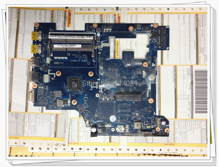 For Lenovo G585 / N585 LA-8681P Laptop Motherboard / Notebook Mainboard 100% tested working