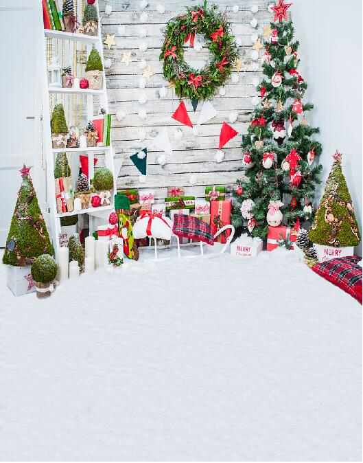christmas tree background vinyl photography backdrop computer printed children christmas backdrop for photography studio st 750