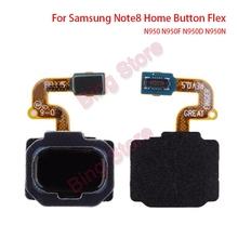 For Samsung Galaxy Note 8 Note8 N950 N950F N950D N950N Home Button Touch ID Fingerprint Sensor Keypad Flex Cable Repair Parts