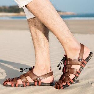 Image 5 - ZUNYU ฤดูร้อนใหม่รองเท้าแตะชายรองเท้าแตะหนังผู้ชายรองเท้าแตะผู้ชายรองเท้าสบายๆสบายๆราคาถูกรองเท้าแตะ