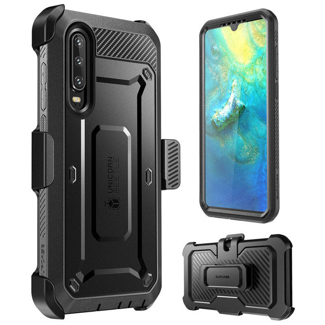 SUPCASE For Huawei P30 Case 6.1 inch (2019) UB Pro Heavy Duty Full Body Rugged Cover with Built in Screen Protector & Holster