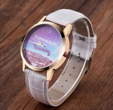 Model OKTIME 1pc/lot, Tomorrow Is Simply One other Day Design Watch, Japan Motion Leather-based Belt For Girls Girls Trend Watches