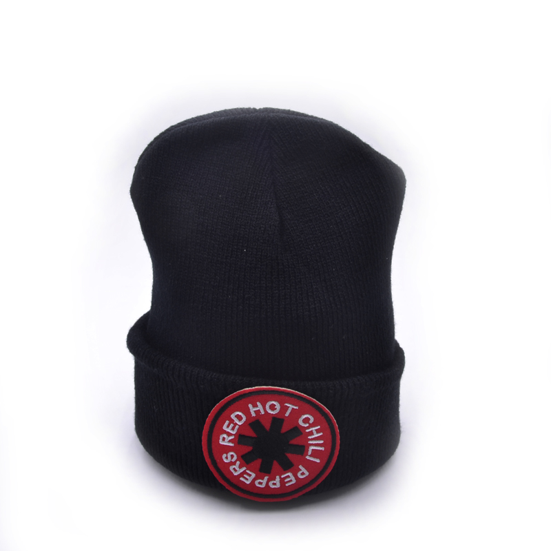 Red Hot Chili Peppers band Winter Warm Knit Beanie Skullies Casual Adult Boy Dipper Mabel Pines Bill Anmation Black Knit Hat skullies