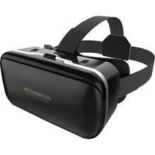 Haweel 3D VR Virtual Reality Glass Headset 3D Video Glasses For Smartphone 4.5 – 6 inch Aspherical lenses Cardboard Helmet Box