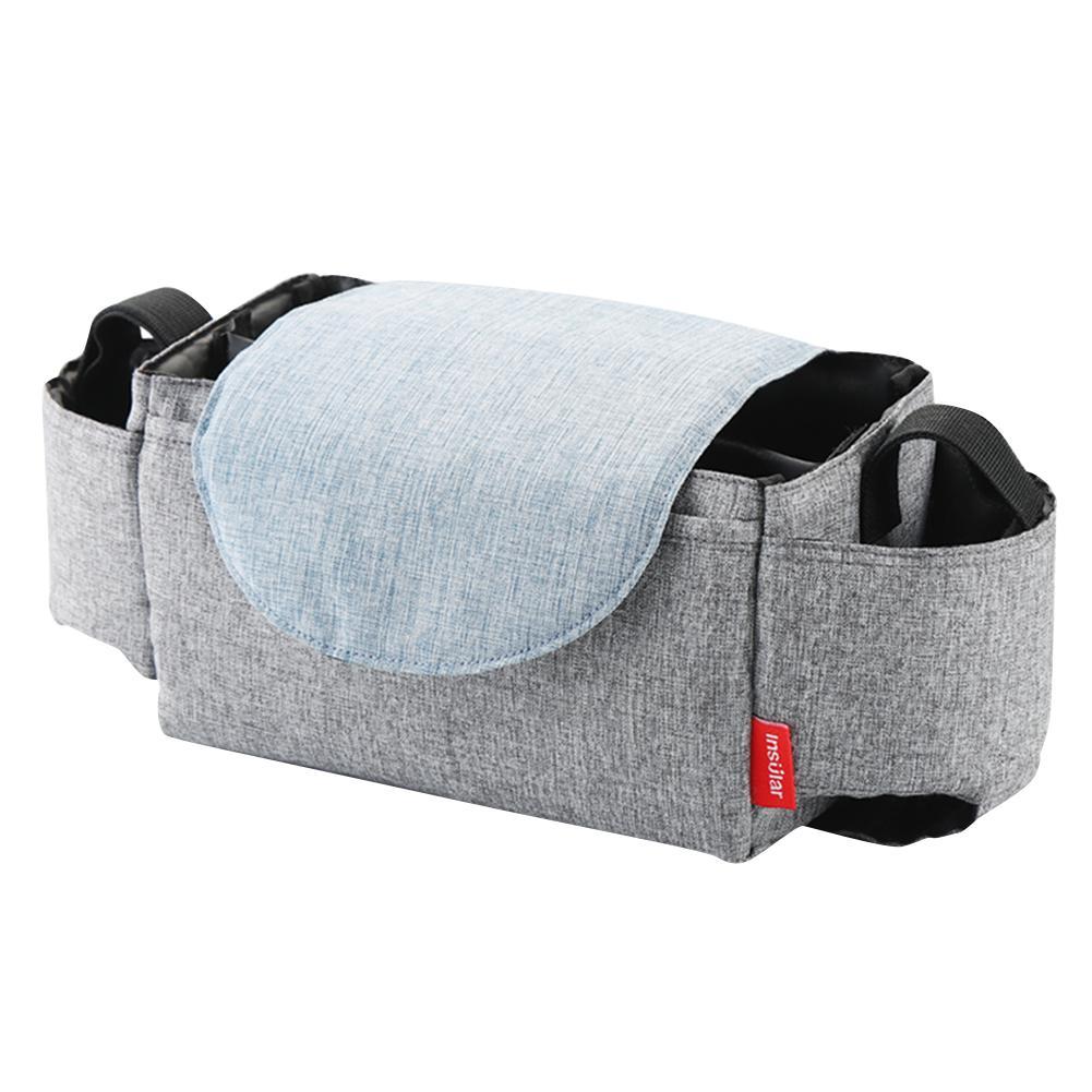 INSULAR детская коляска бутылка-органайзер подстаканник Пеленки сумки для беременных подгузник сумка Аксессуары для портативной детской коляски - Цвет: 4