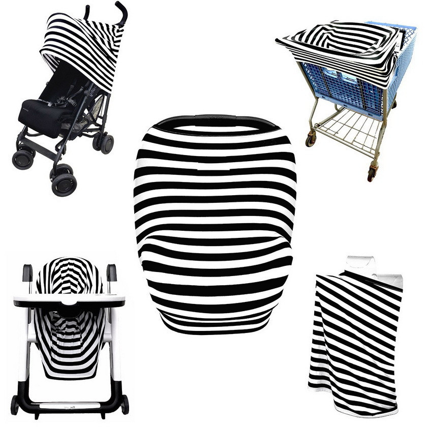 Baby Car Seat Canopy Cover Full Coverage Multi Use