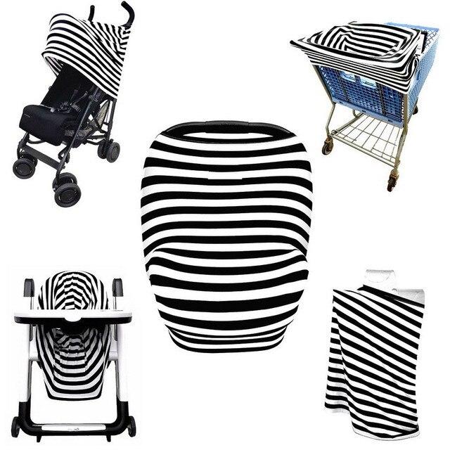 baby car seat canopy cover full coverage multi use nursing cover unisex design