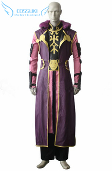 Vision Of Escaflowne A Girl On Gaia Folken Fanel Uniform Cosplay Costume ,Perfect Custom For You !