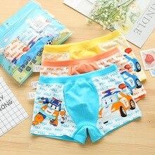 3pcs/lot boys boxer kids panties underwear Boy Underpants Modal Soft Children 2-9years child thong