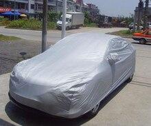 Universal Para El Sedán de Interior Al Aire Libre Completo Car Cubierta Sun UV Nieve Polvo Cubierta de Protección Tamaño S M L XL XXL