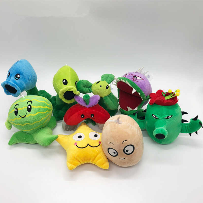 1pc 27 styles Plants vs Zombies Plush Toy Stuffed Soft Toys classical toys  PVZ Plush Leisurely Game Toy for Kids birthday Gifts