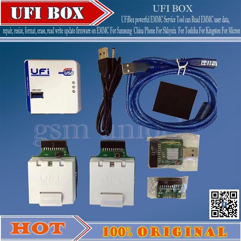 Gsmjustcct UFi Box potente Strumento di Servizio di Leggere i dati dell'utente riparazione ridimensionare