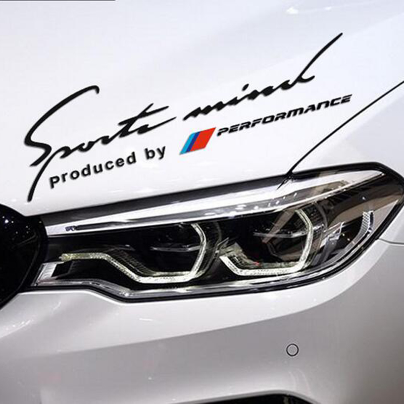 Automotive sports spirit products /// M performance power car stickers and decal accessories for BMW E46 E90 E39 E60 F30 sticker